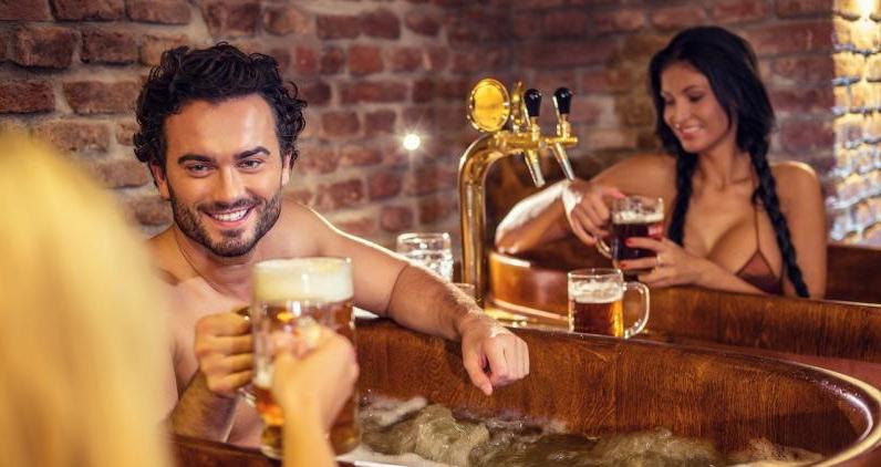 Пивное СПА в Праге