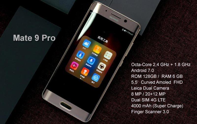 Новинка от Huawei - смартфон Mate 9 Pro