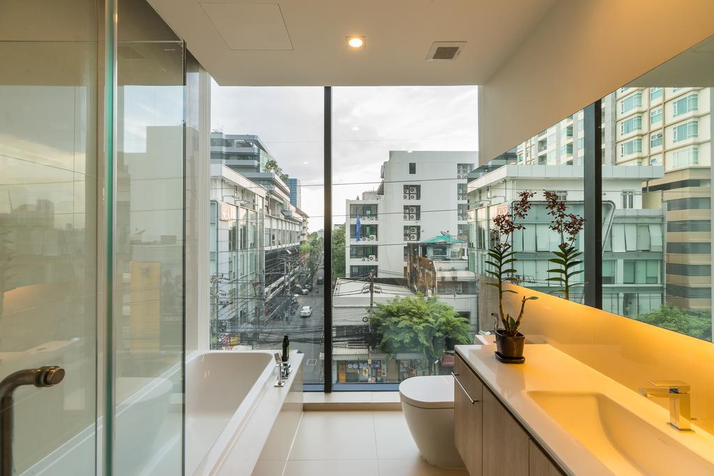Ванная комната в бангкокском отеле