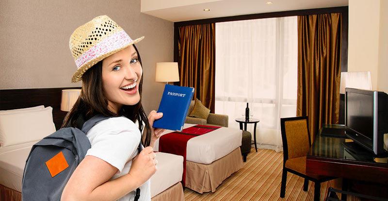 Забронировать отель для получения визы