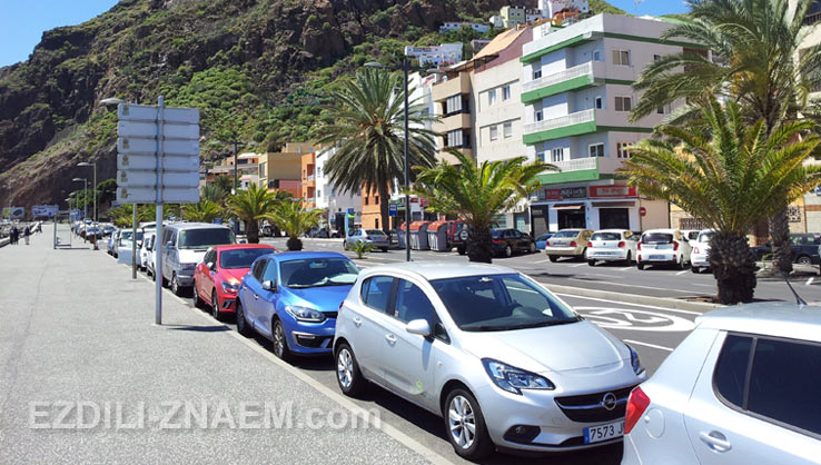 Арендовать авто на острове Тенерифе