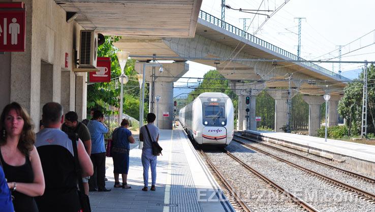 Как поехать на поезде до Фигейраса