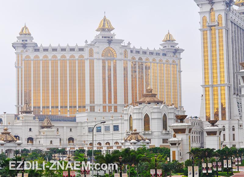 """отель-казино """"Galaxy"""" на острове Тайпа в Макао"""