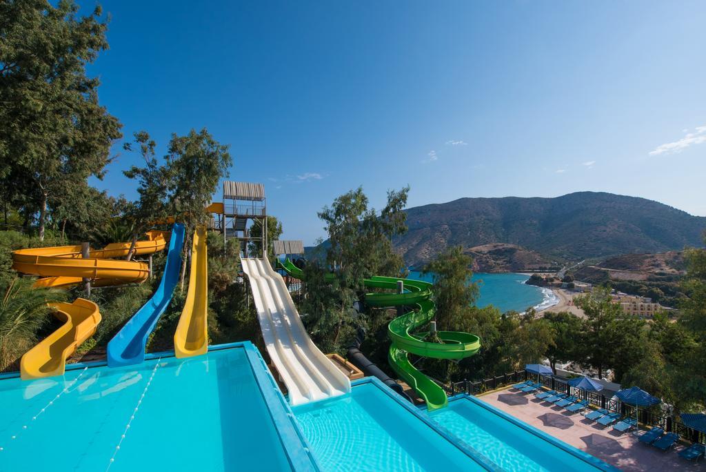 Fodele Beach Water Park Resort, отель с аквапарком, Греция