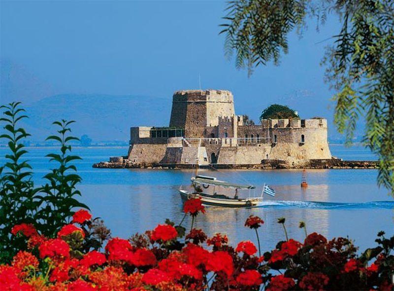 Крепость Бурци, Нафплион, полуостров Пелопоннес