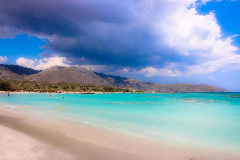 Пляж Элафониси, Крит
