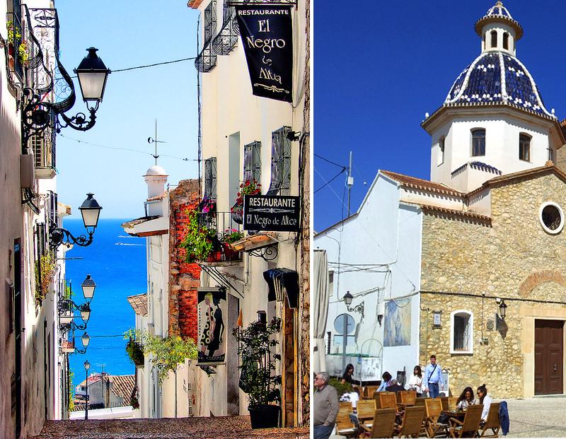 В Испанию самостоятельно. На фото город Алтея
