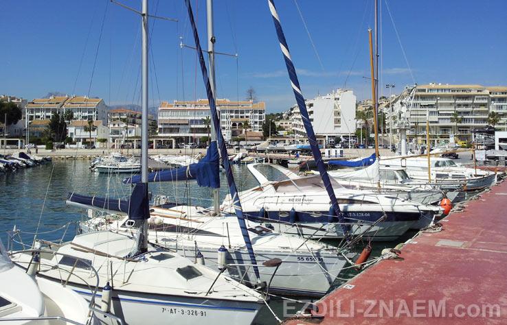 Яхт-клуб в Альтее