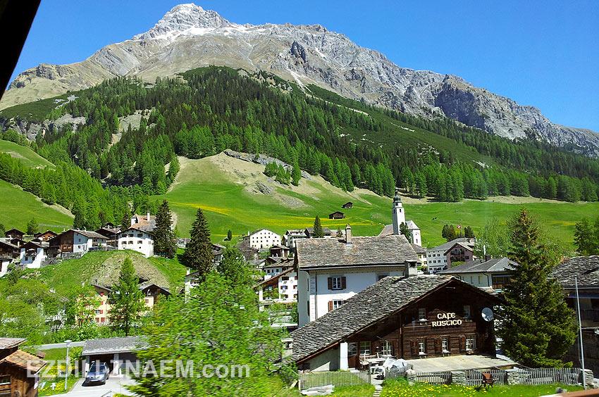 На автобусе по Швейцарии
