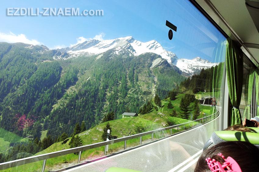 На автобусе через Италию и Швейцарию