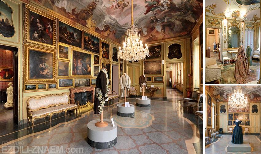 В музее Palazzo Morando Costume Moda Immagine