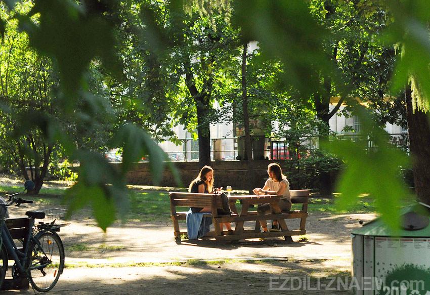 В паркеGiardini Pubblici