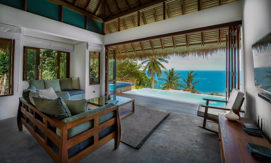 Phandara Luxury Pool Villas на Ко Тао - виллы с видом на море