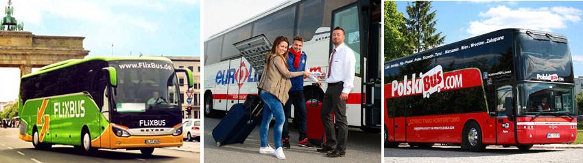 Недорогие автобусы для путешествий по Европе