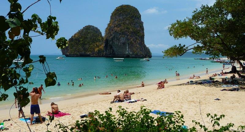 На море в Таиланде