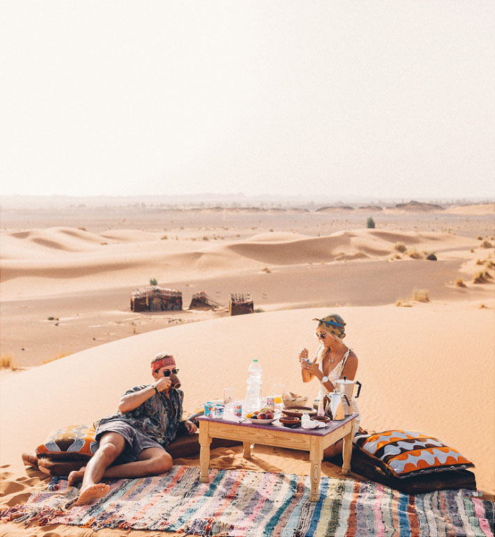 Ali & Sara Luxury Camp в Сахаре