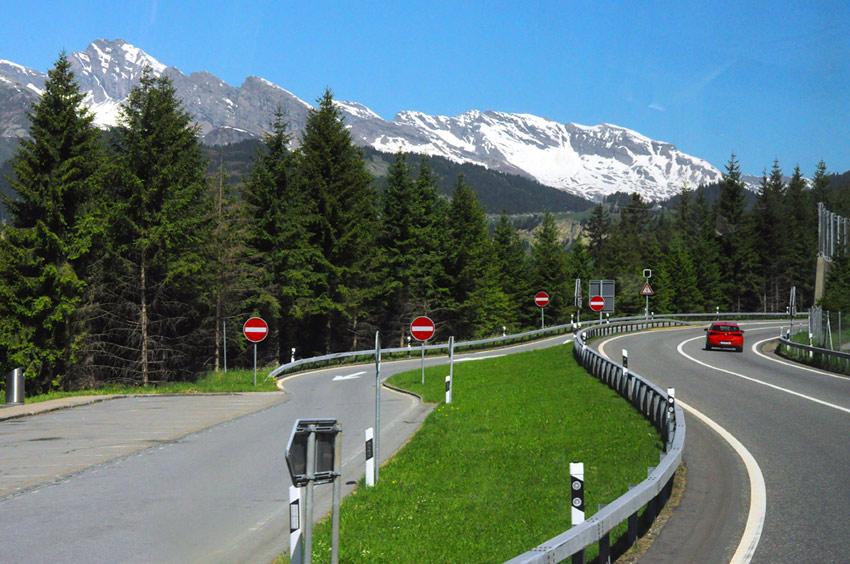 Дорога из Милана в Мюнхен