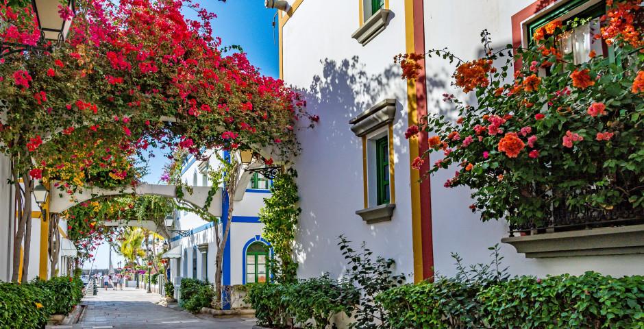Пуэрто-де-Моган на острове Гран-Канария, Испания