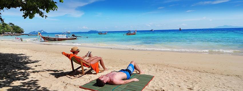 Отдых на острове Пи Пи, Таиланд