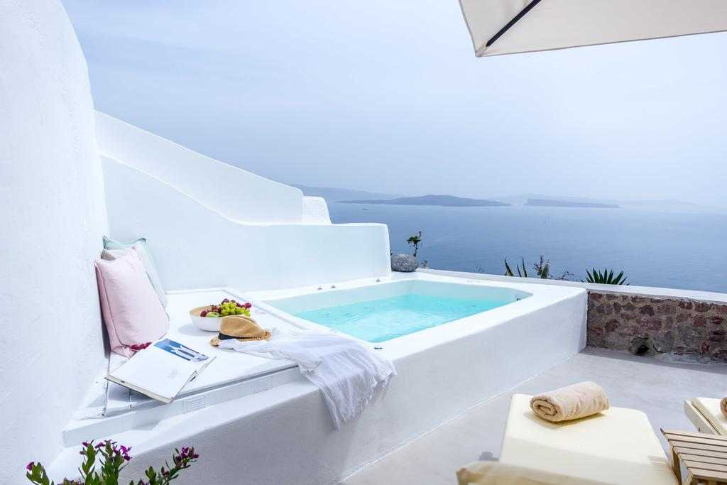 На вилле Cleo's Dream, Санторини, Греция