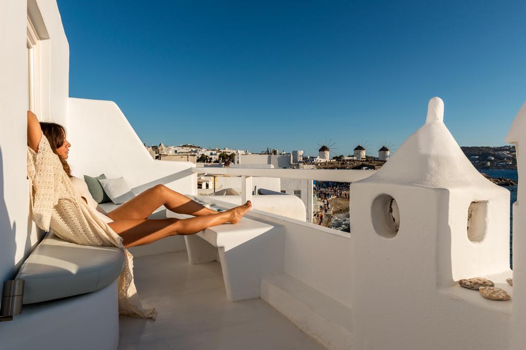 Апартаменты с видом на море, Миконос, Греция