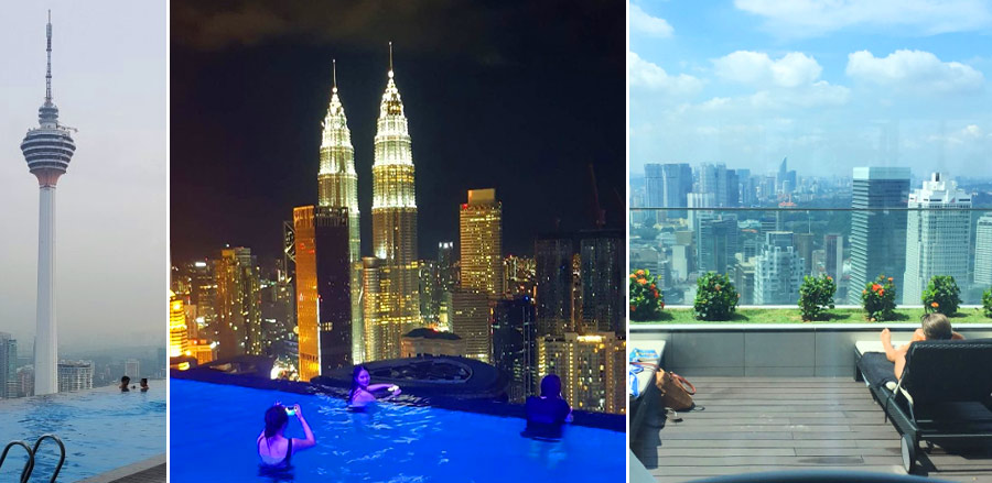 THE FACE Suites - отель в Куала Лумпур с бассейном на крыше и видом на Петронасы
