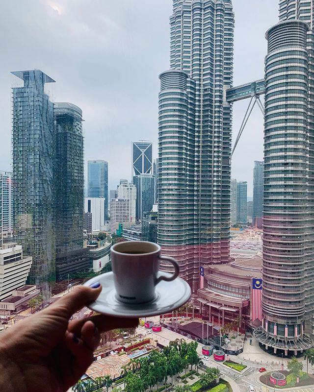 Вид из номера отеля W Kuala Lumpur