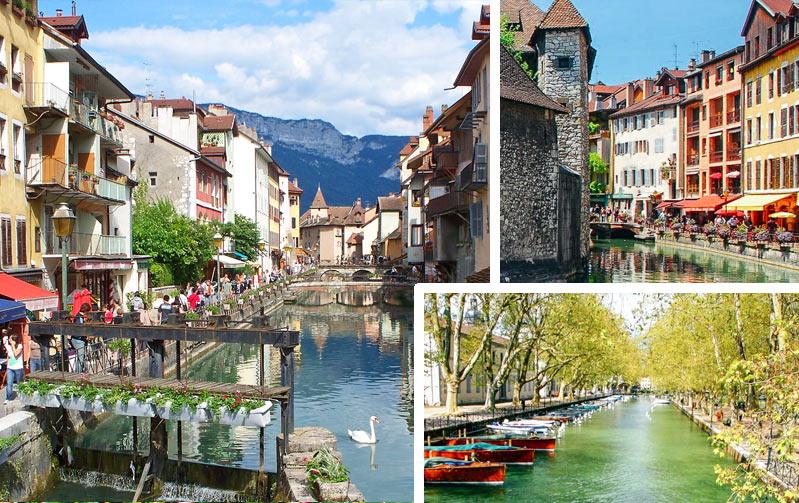 Анси (район Рона-Альпы, Франция, Европа)