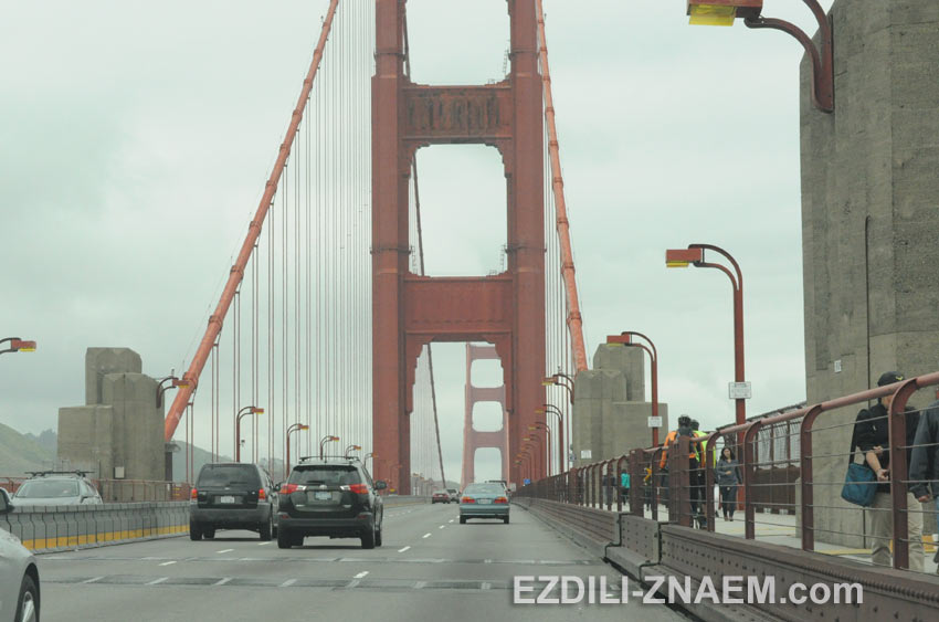Поездка по Калифорнии на арендованном авто