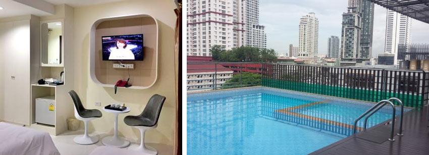 Удобный отель после прилета в Бангкок