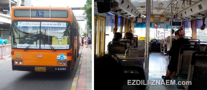 Как доехать на автобусе до аэропорта Дон Муанг в Бангкоке