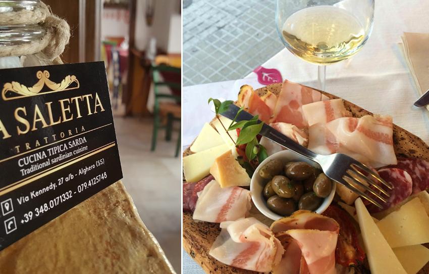 Ресторан La Saletta в Альгеро