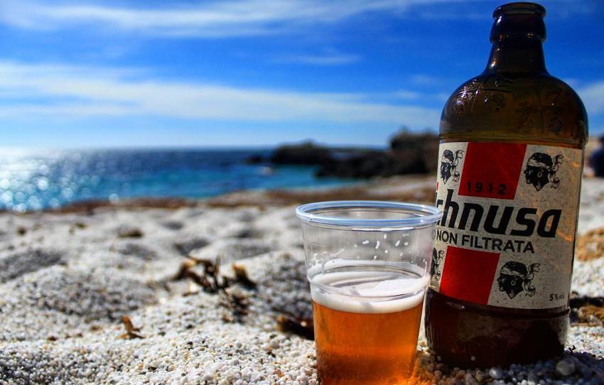 Сардинское пиво Ichnusa