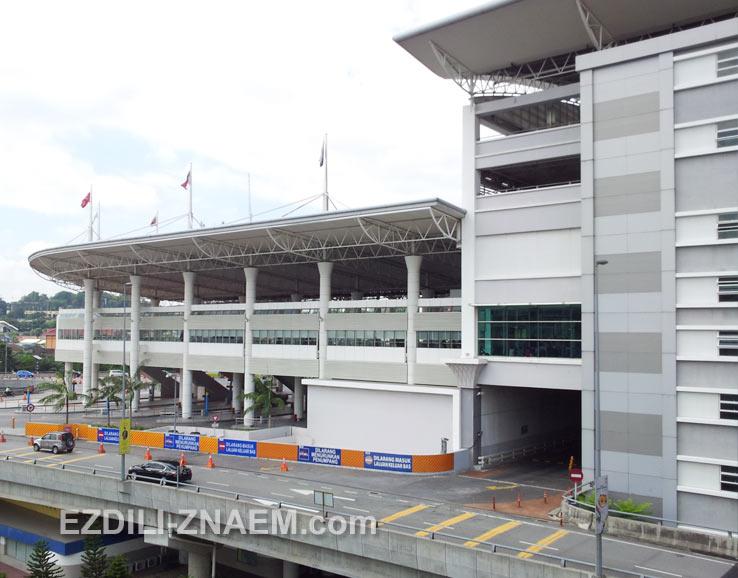Автобусный терминал TBS в Куала Лумпур