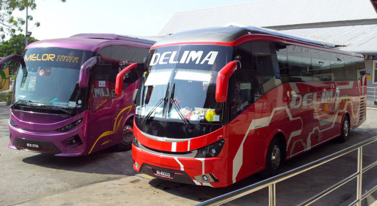 Из Куала Лумпур в Мелакку на автобусе