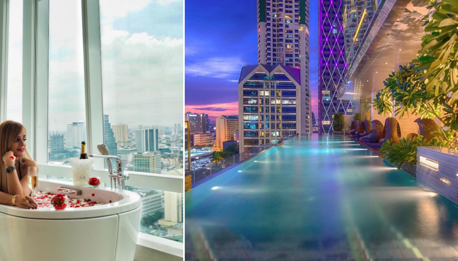 В отеле Eastin Grand Hotel Sathorn