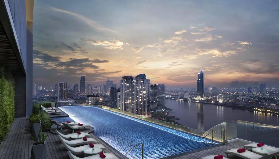 Отель AVANI Riverside Bangkok с видом на реку Чао-Прая
