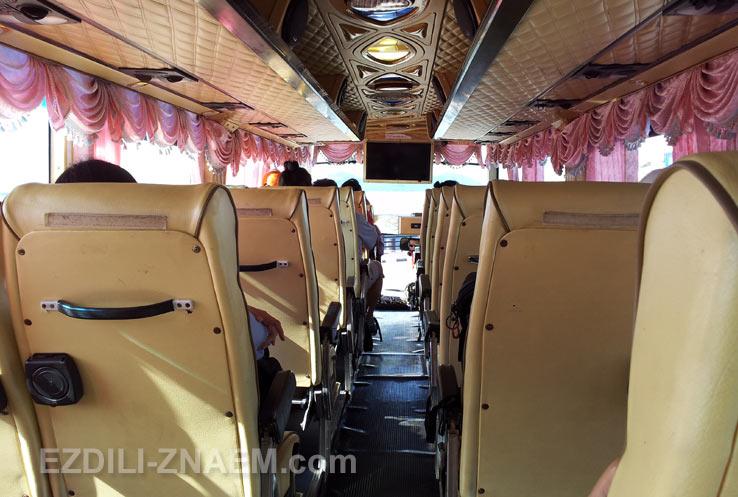Как доехать до Самуи: автобус из Сураттани до пирса Донсак