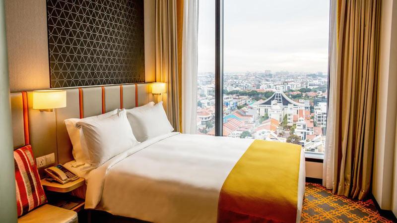 """Недорогой отель """"Holiday Inn Express Singapore Katong"""" в районе Катонг, Сингапур"""