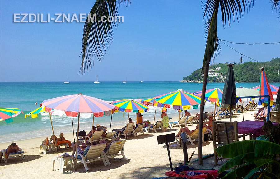 пляж Сурин - один из самых модных пляжей Пхукета