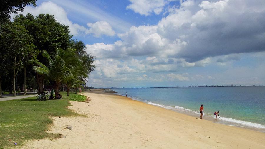 Пляж в East Park