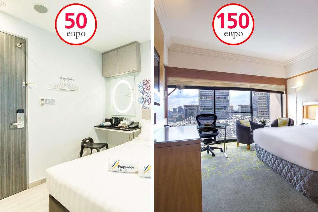 Отели в Сингапуре: дешевые и дорогие