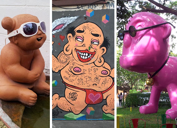 Дизайн и стрит-арт в Чиангмае