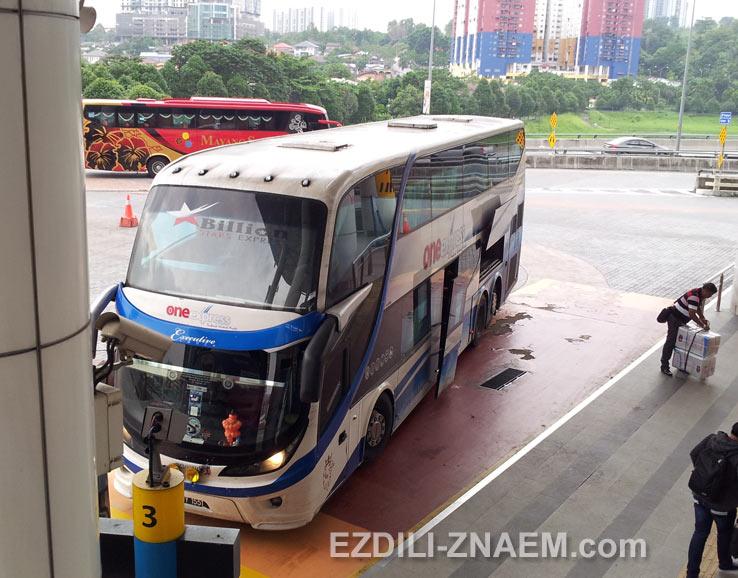 На автобусе по Малайзии: автобус Пенанг - Куала Лумпур
