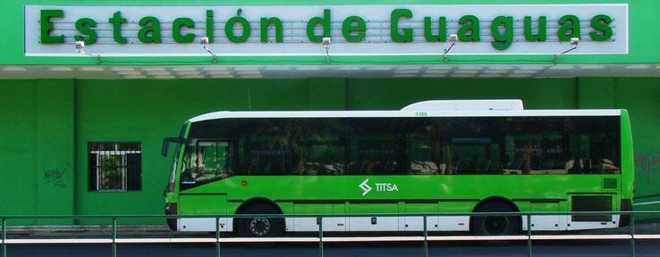Автовокзал в Пуерто де ла Круз, Тенерифе
