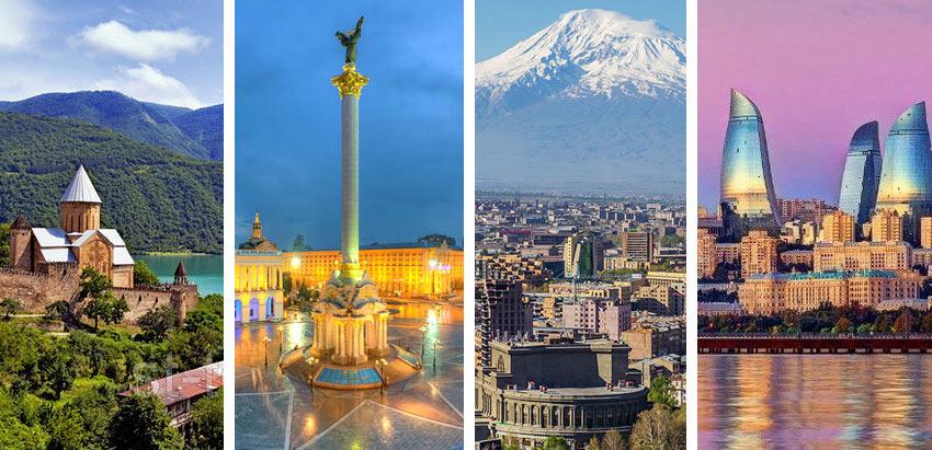 безвизовые страны для россиян - Армения, Абхазия, Украина и др