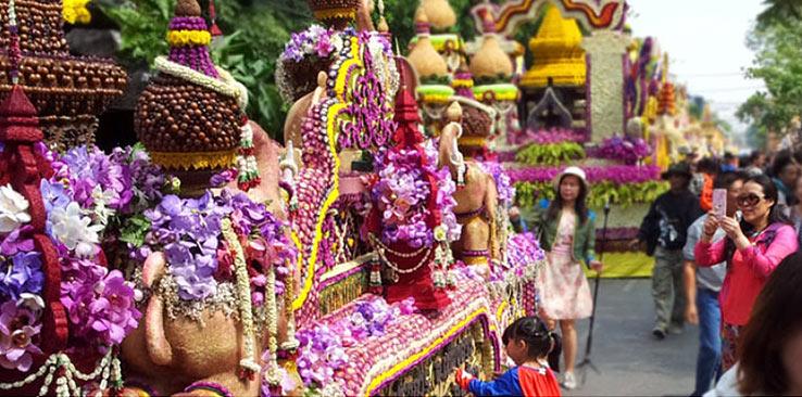 Фестиваль цветов в Чиангмае