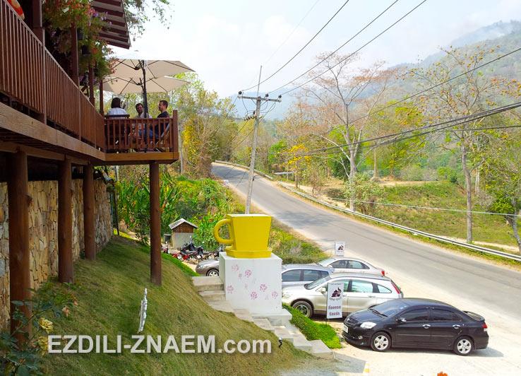 Самое прекрасное на Севере Таиланда - горы и кофейни