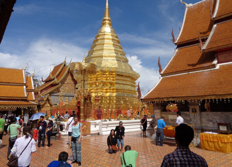 Храм Дой Сутеп - главная достопримечательность Чиангмая