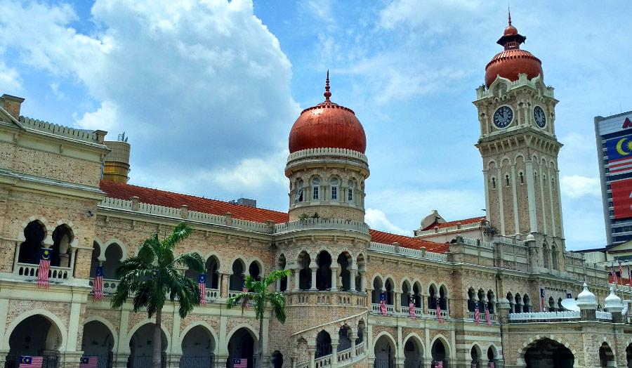 Дворец Султана Абдул Самада в Куала-Лумпур